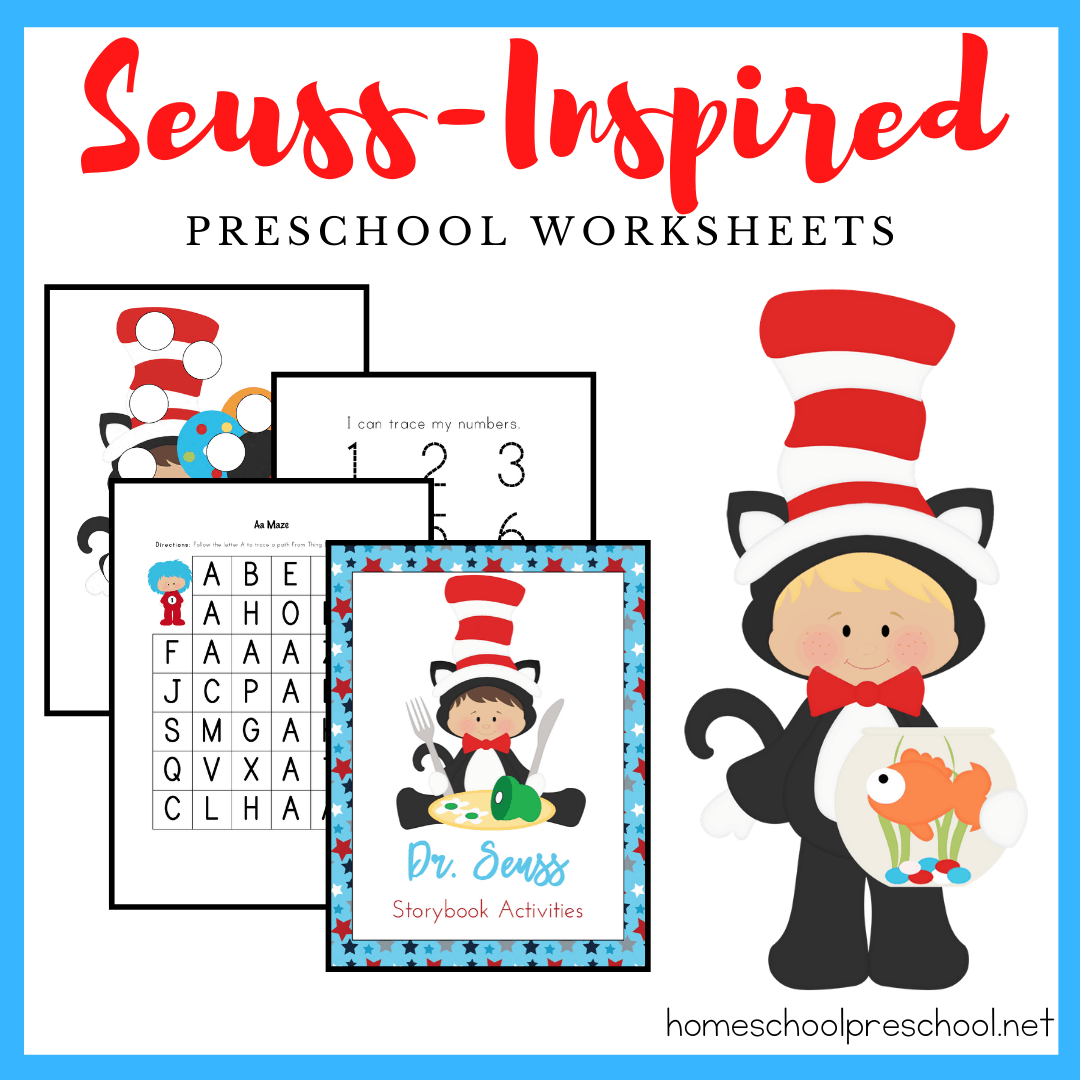 Free Dr Seuss Printable Pack For Preschoolers