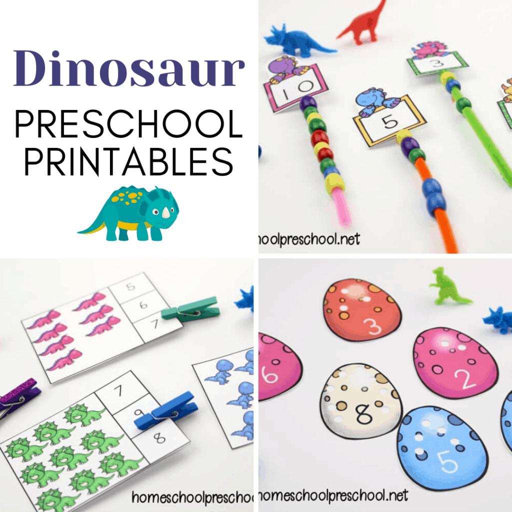 25 Dino Mite Dinosaur Printables For Preschoolers