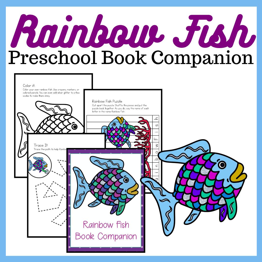 Rainbow Fish Book Printables For Preschoolers