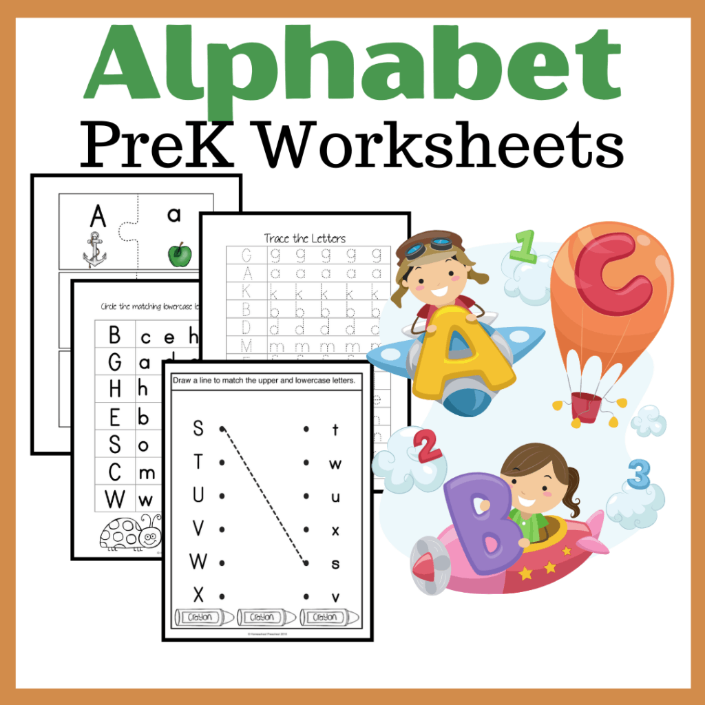 Free Printable Alphabet Worksheets For Preschoolers
