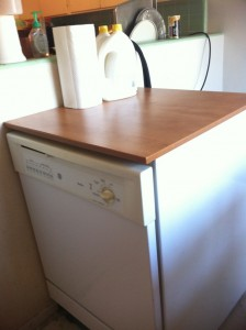 Newly cleaned dishwasher, The Great Summer Purge and Clean, HomeschoolRealm.com