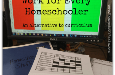 Curriculum doesn't work for every homeschooler