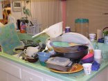 Kitchen still looks like this most days