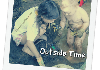 Homeschooling the early years, part 6, outside time