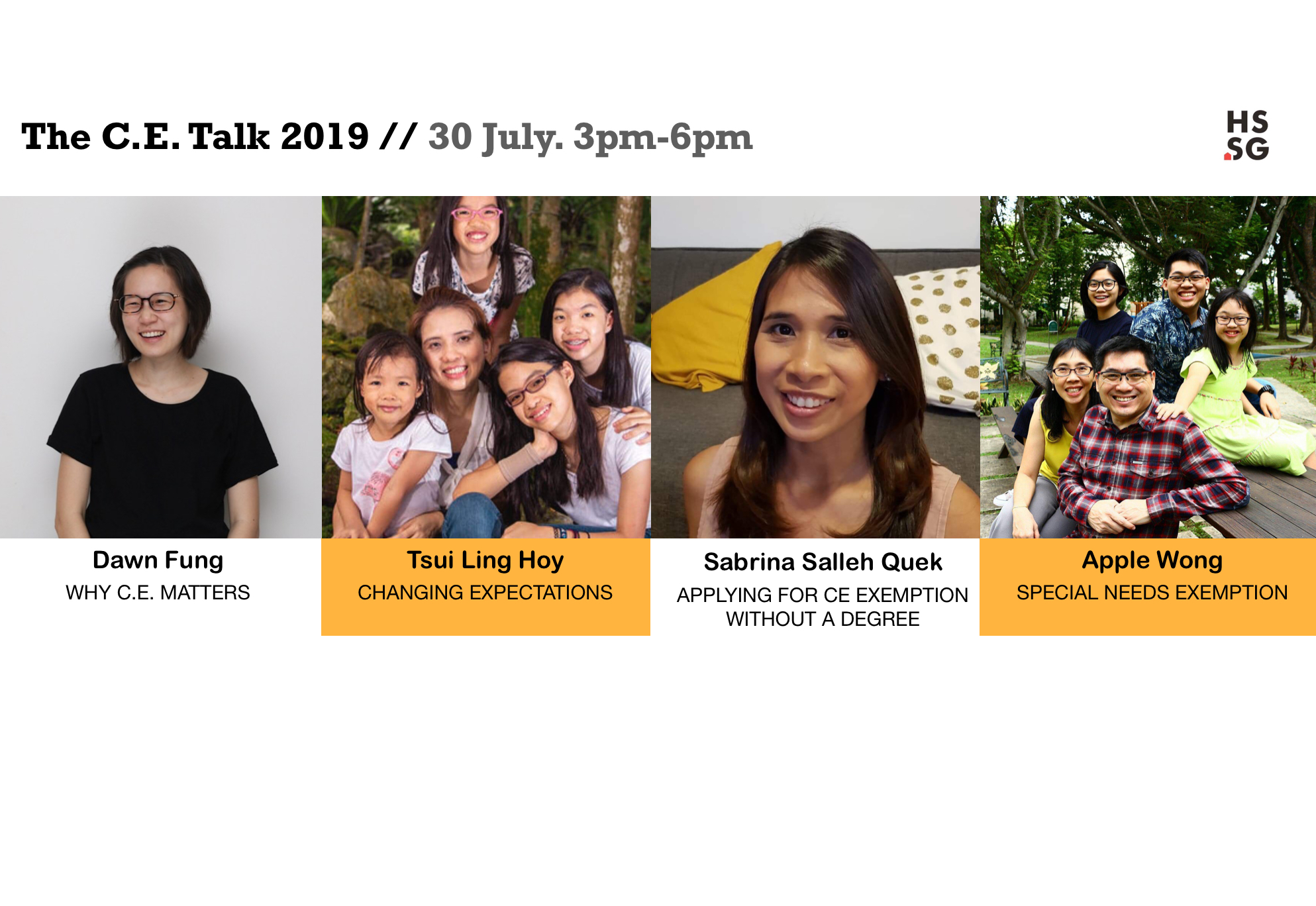 The C.E. Talk 2019 is here!