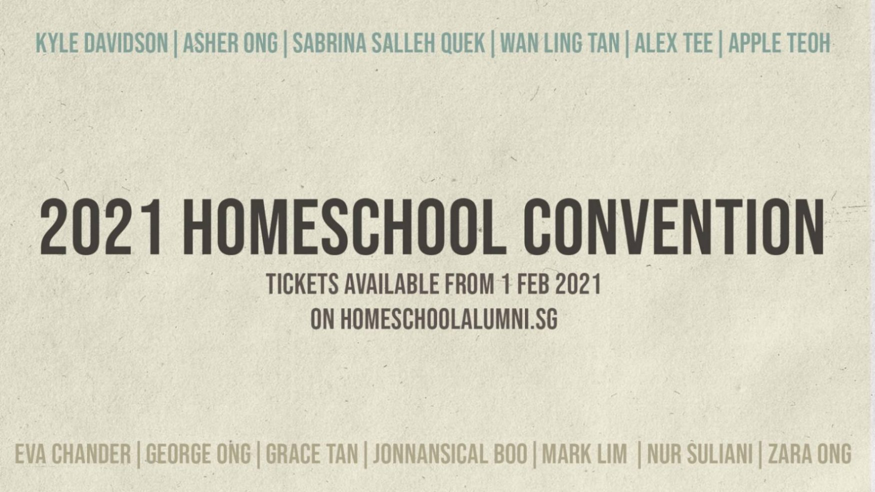 Homeschool Convention 2021