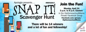 Celebrate Homeschool Teacher Appreciation Week with the Snap It! Scavenger Hunt