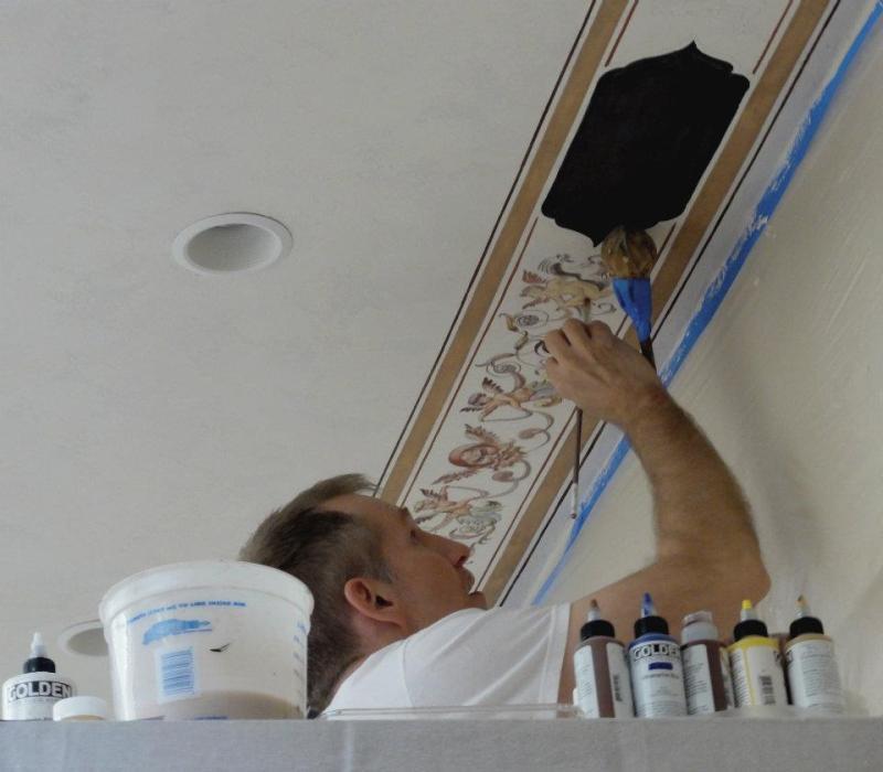 Ceiling Painting The Best Techniques Ideas Exmaples