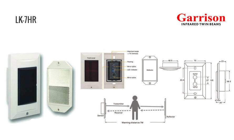 Garrison LK-7HR Reflector Infrared Sensor