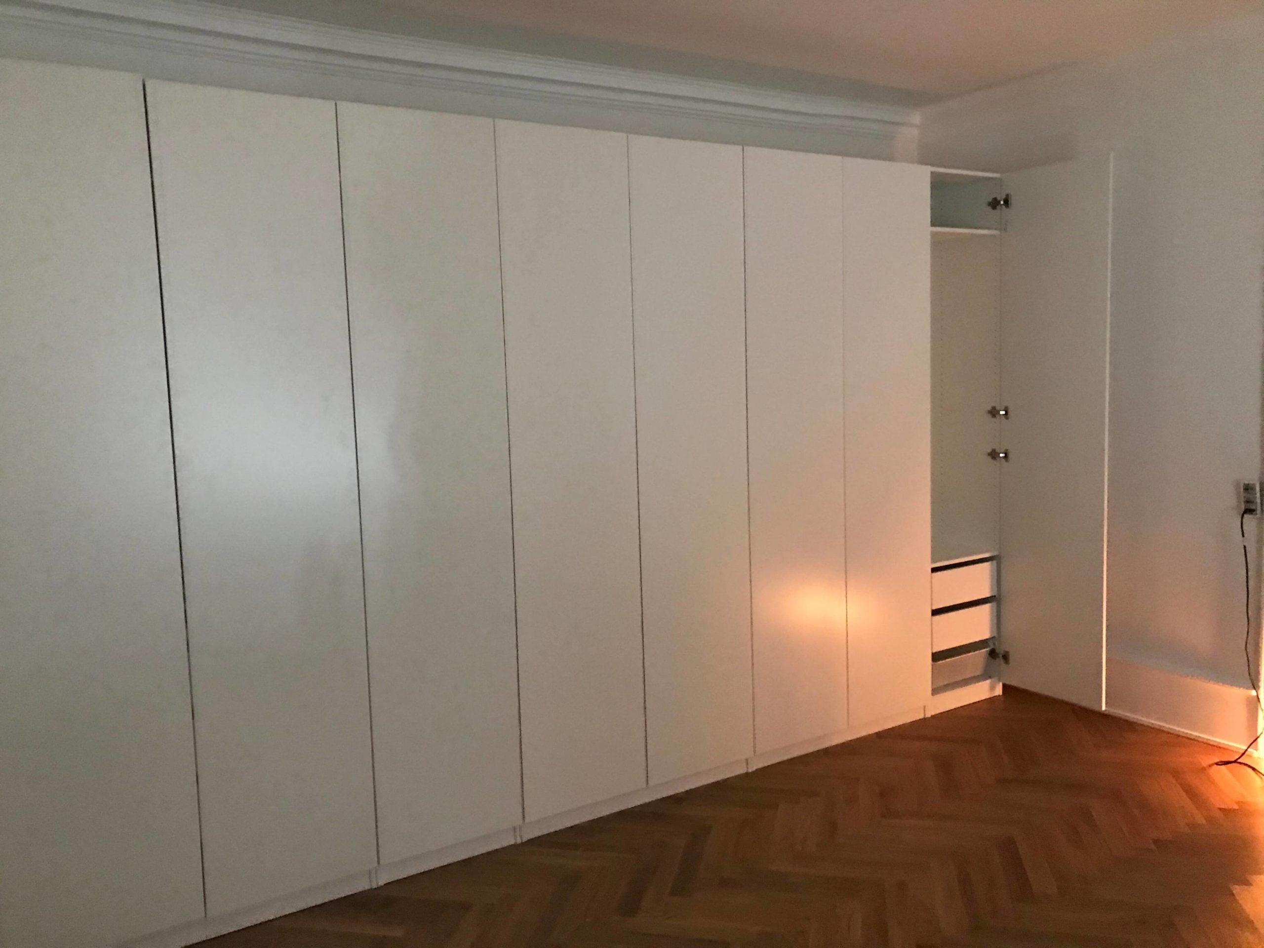 Samling Af Ikea Pax Garderobeskab Bestaende Af 6 Pax Stel 236 Cm Homesetup Dk