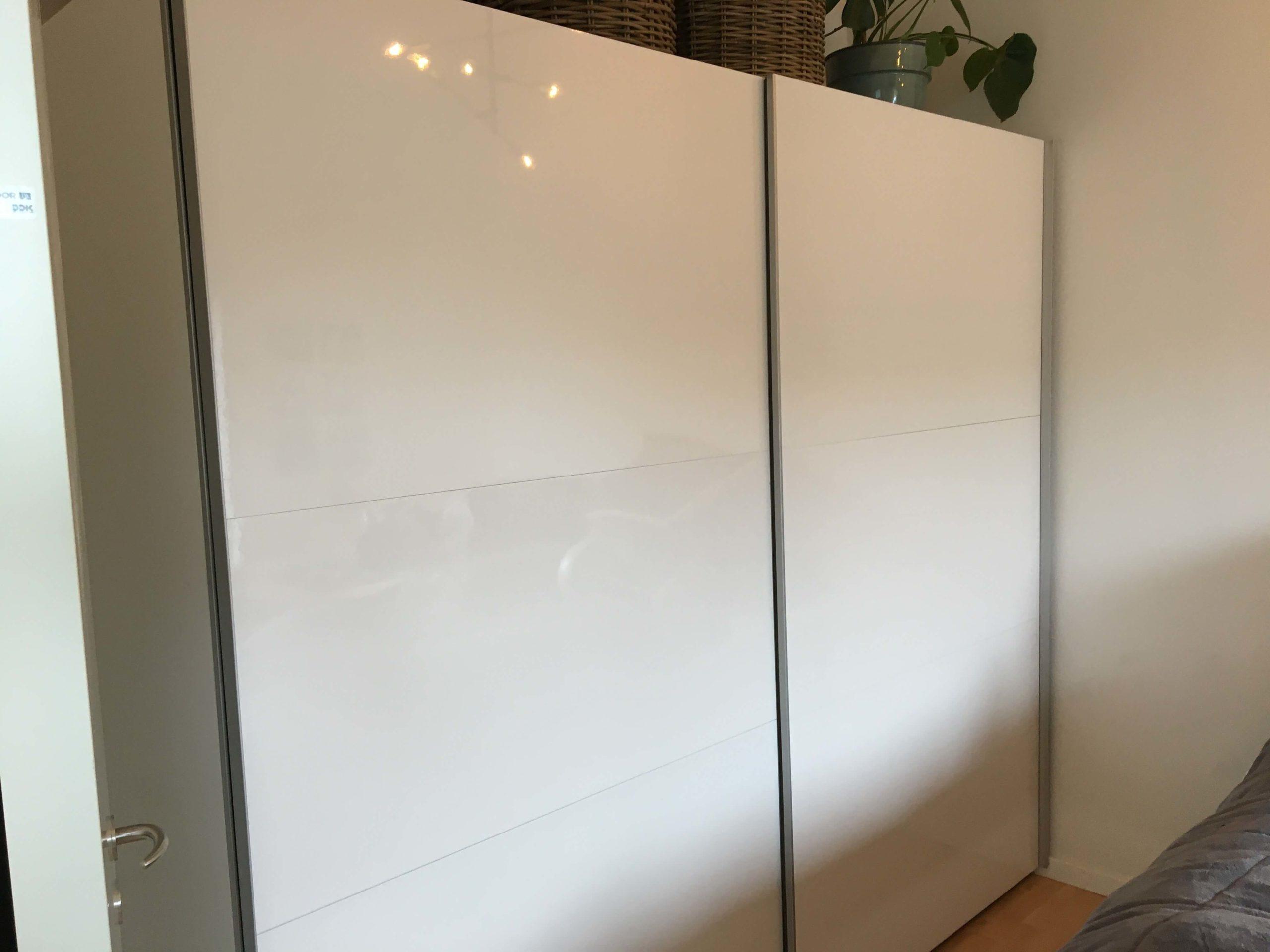 Samling Af Ilva Save Garderobeskab Med Skydedore 250cmx220cm Homesetup Dk