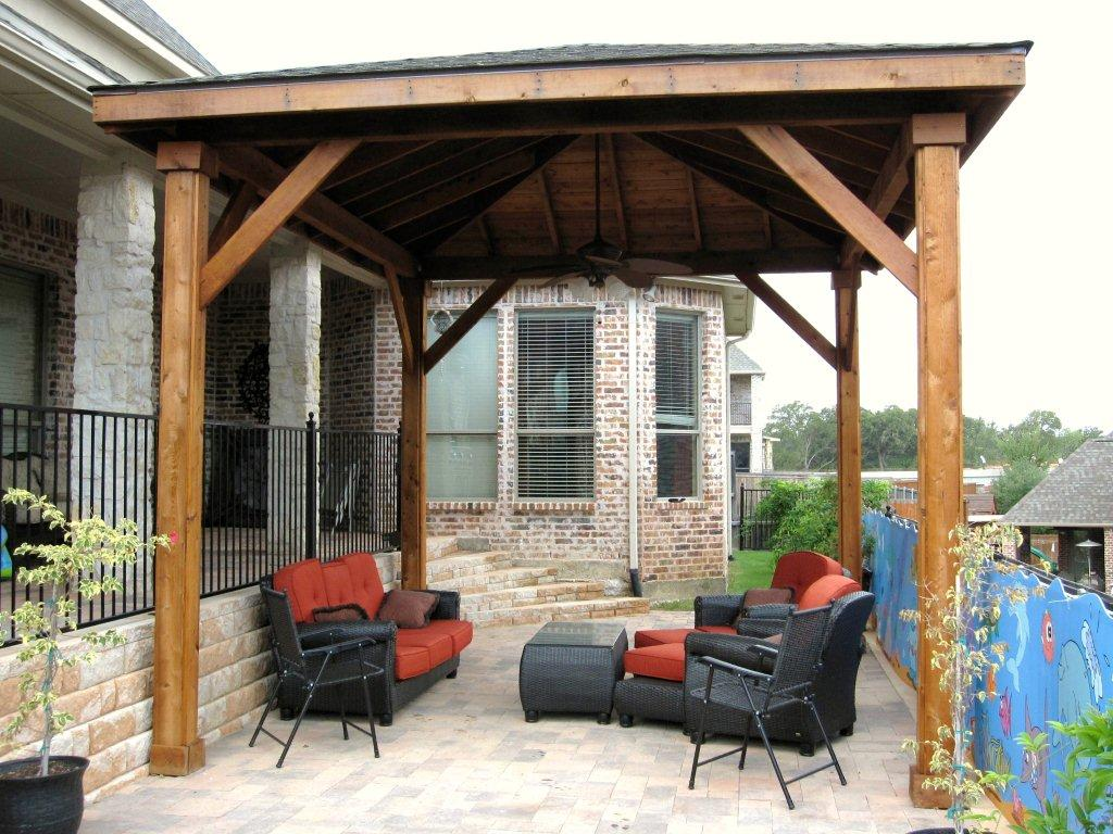 Wooden Patio Covers: Give High Aesthetic Value and Best ... on Covered Patio Design Ideas id=18368