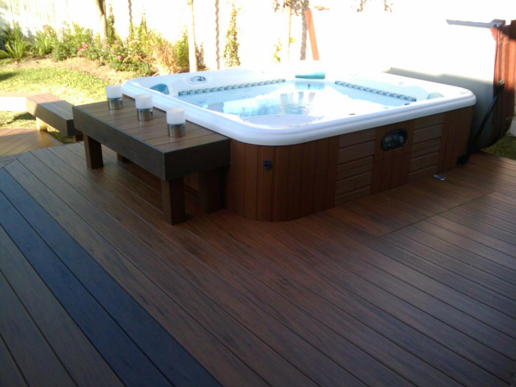 Decks with Hot Tubs: The Outstanding Home Deck Design ... on Deck And Hot Tub Ideas  id=67049