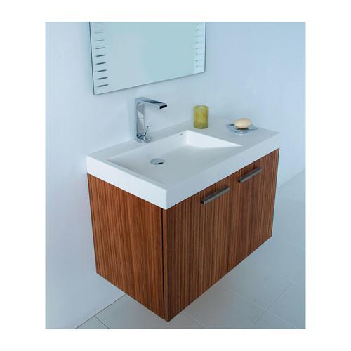 create contemporary look with mid century modern bathroom vanity