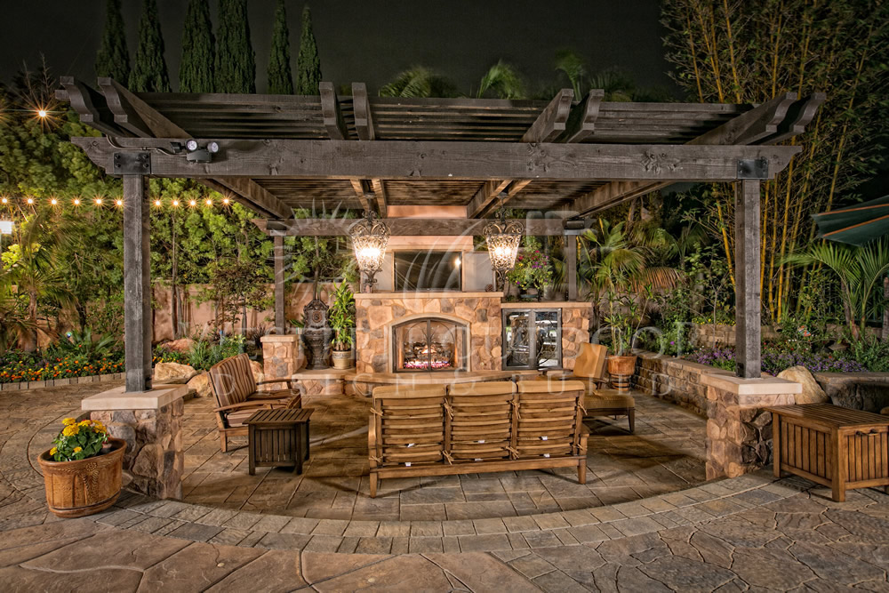 Wooden Patio Covers: Give High Aesthetic Value and Best ... on Backyard Patio Enclosure Ideas  id=41996