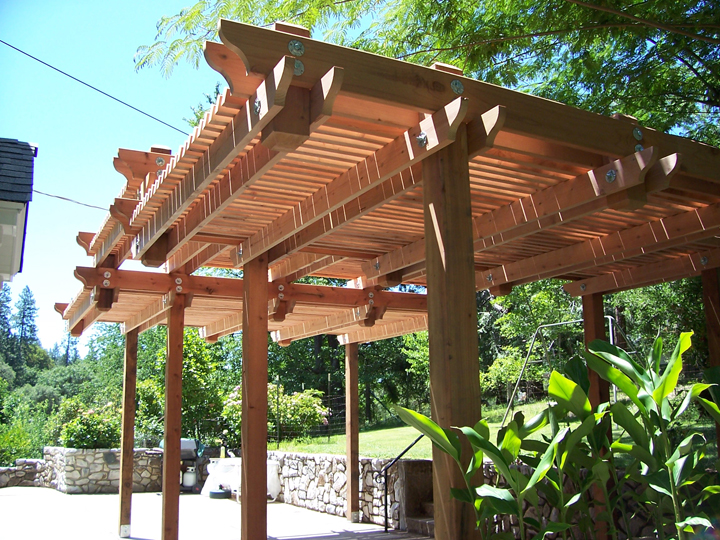 Wooden Patio Covers: Give High Aesthetic Value and Best ... on Patio Cover Ideas Wood id=76033