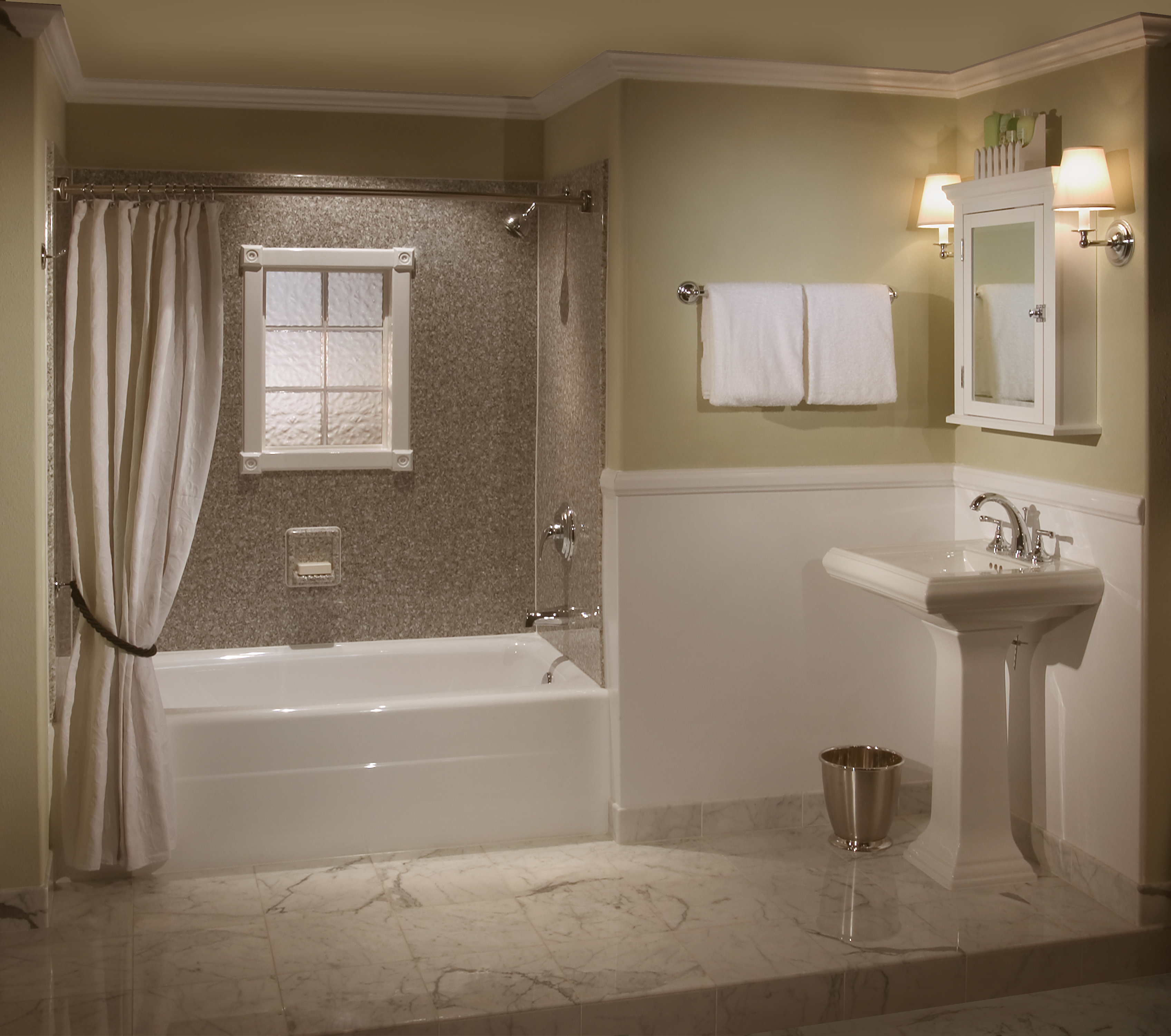 Draft Your Bath Remodel Cost Estimation - HomesFeed on Small Bathroom Renovations  id=81493