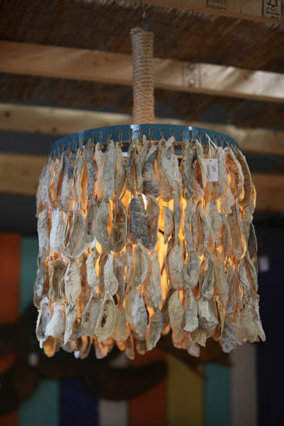 Full Drape Oyster Shells Pendant Lighting