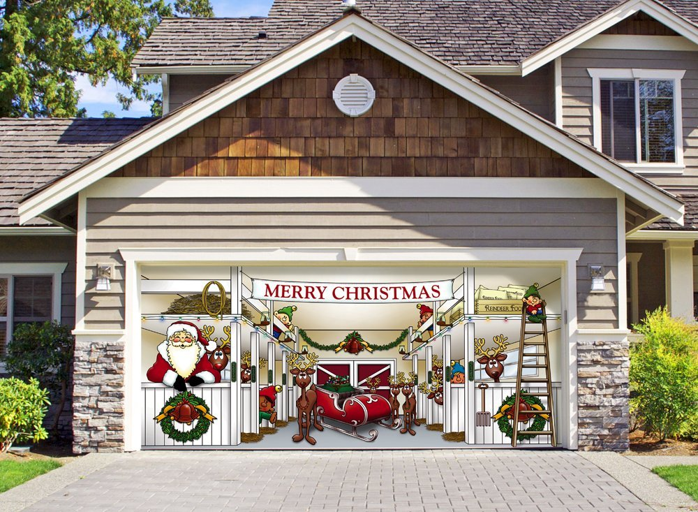 Unique Garage Doors That Mesmerize You With the ... on Garage Decoration  id=76298