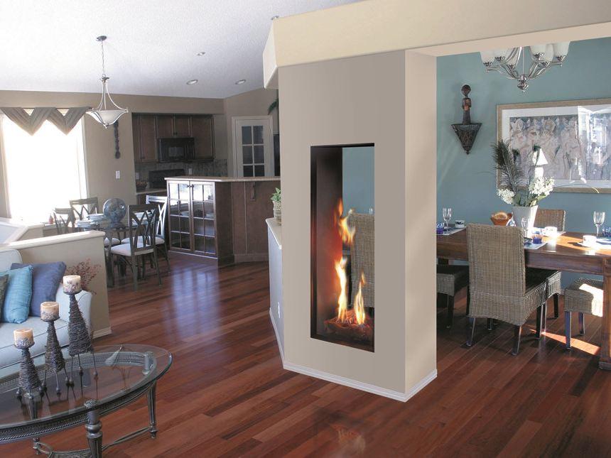 Two Way Fireplace The Benefits HomesFeed