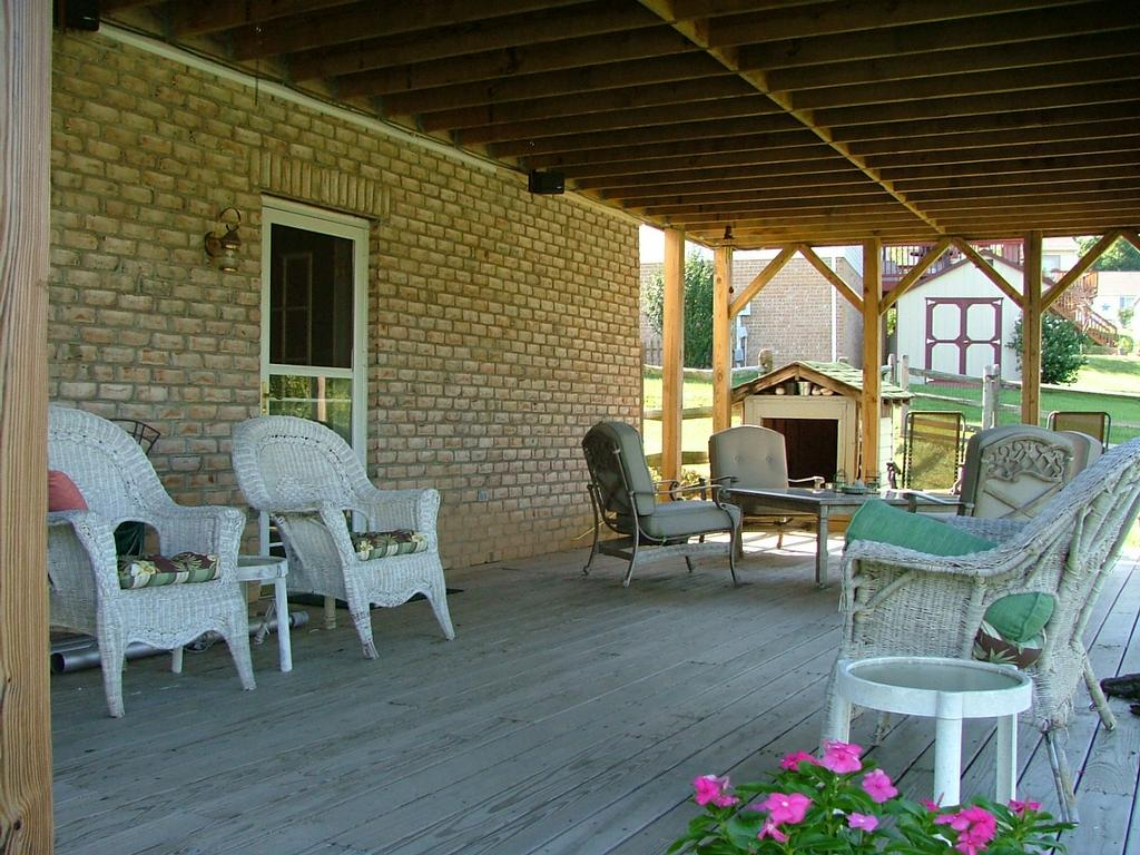 Create a Comfortable and Relaxing Place for Your Family by ... on Under Deck Patio Ideas id=93489