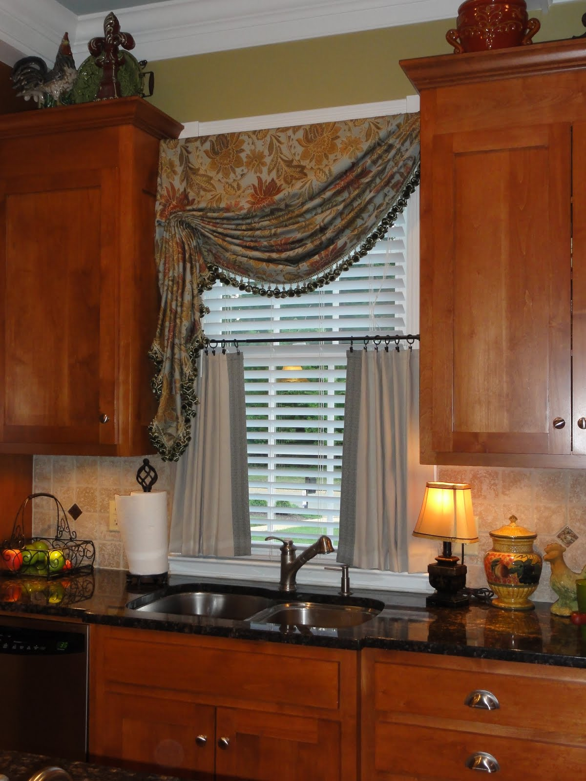 Best Kitchen Gallery: Window Treatments For Small Windows In Kitchen Homesfeed of Kitchen Counter Shutters on rachelxblog.com