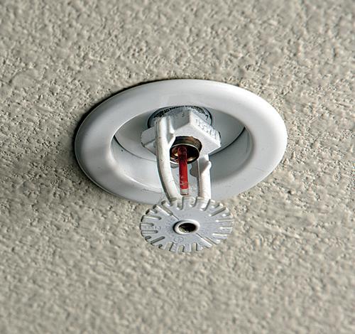 Home Fire Sprinkler System Design: Ceiling Fire Sprinkler Covers