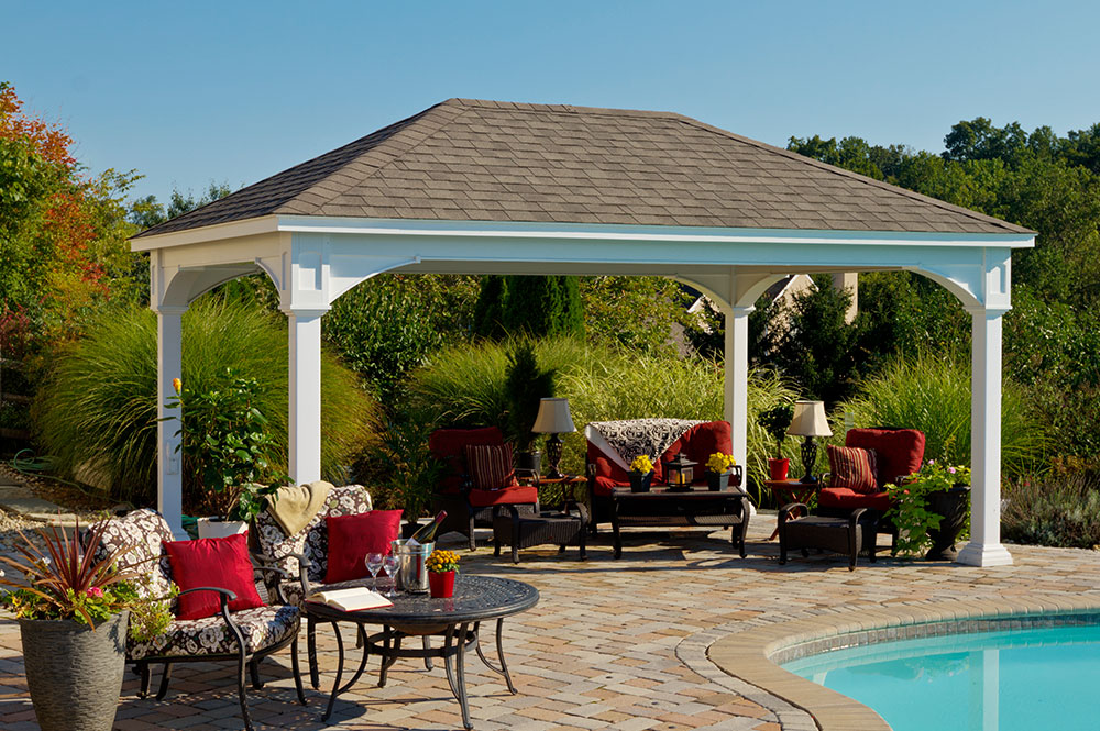 Outdoor Pavilion Plans That Offer a Pleasant Relaxing Time ... on Outdoor Patio Pavilion id=14956