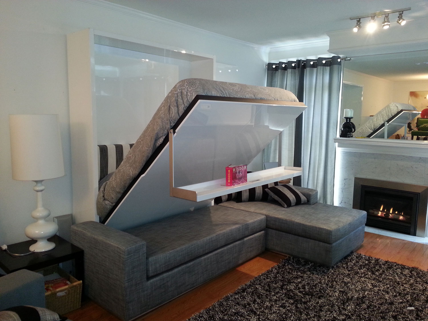 Space Saving Bedroom Ideas With Beds That Fold Into Wall HomesFeed