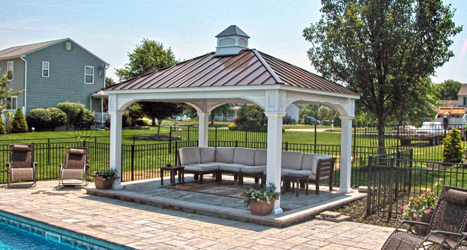 Outdoor Pavilion Plans That Offer a Pleasant Relaxing Time ... on Outdoor Patio Pavilion id=22996