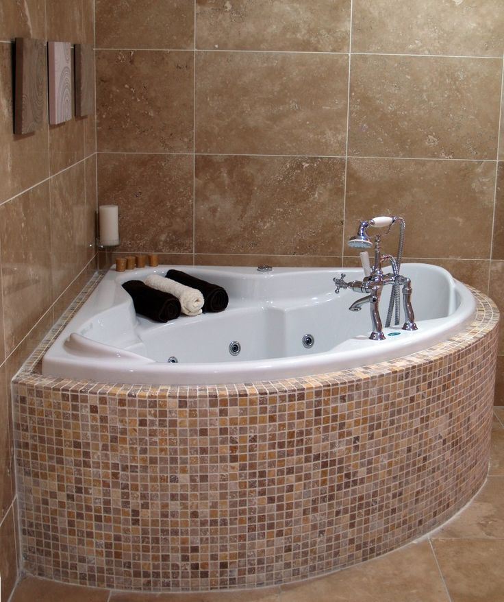 Deep Tubs for Small Bathrooms That Provide You Functional ... on Small Bathroom Ideas With Tub id=69605