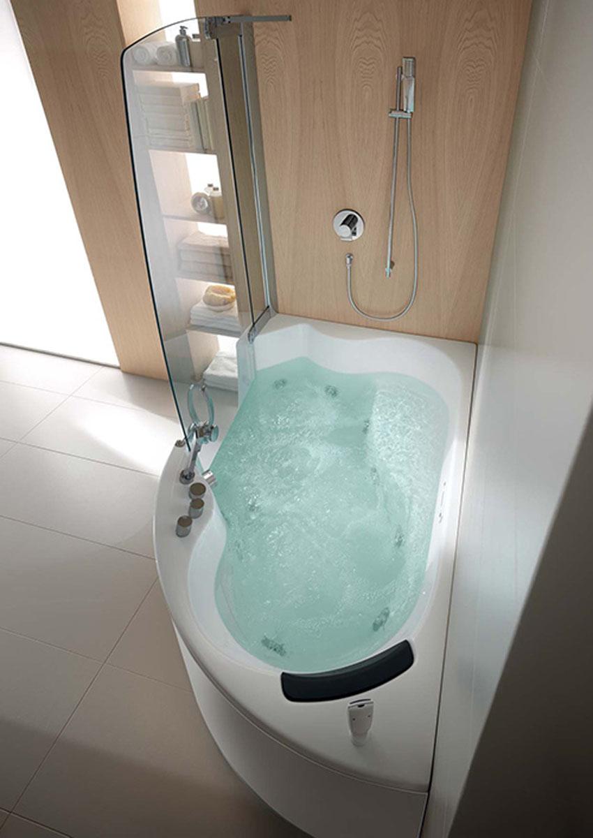 Efficient Bathroom Space Saving with Narrow Bathtubs for ... on Small Space Bathroom Ideas  id=35379