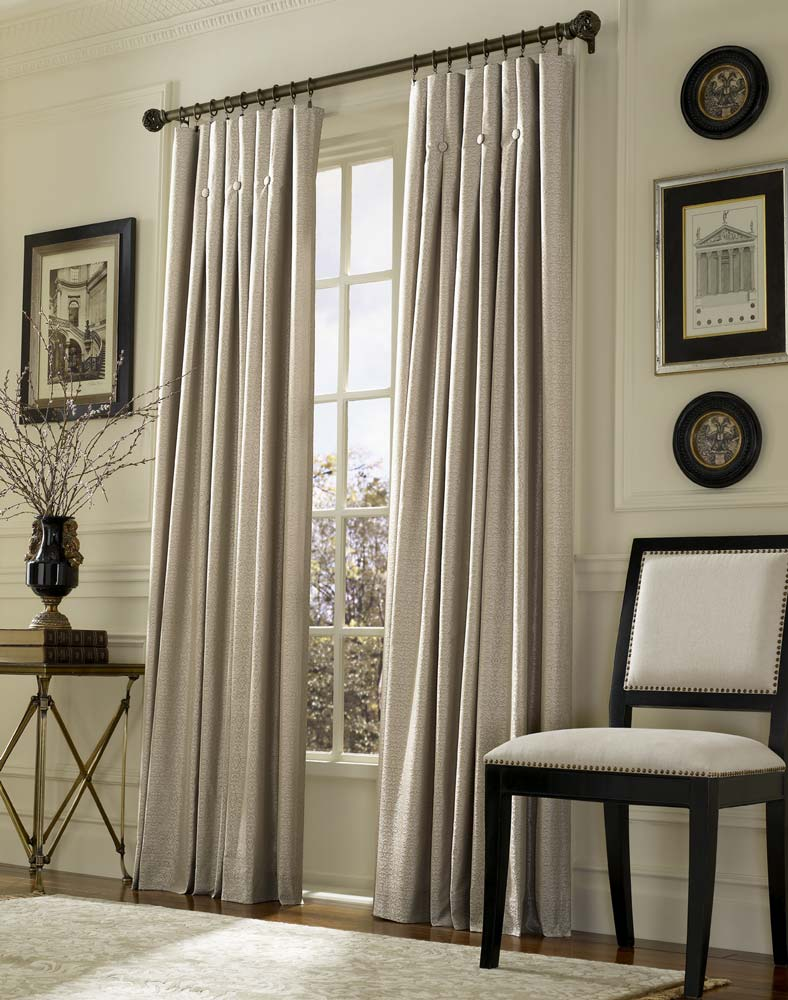 Inverted Pleat Drapes That Will Smarten Your Window ... on Draping Curtains Ideas  id=17039
