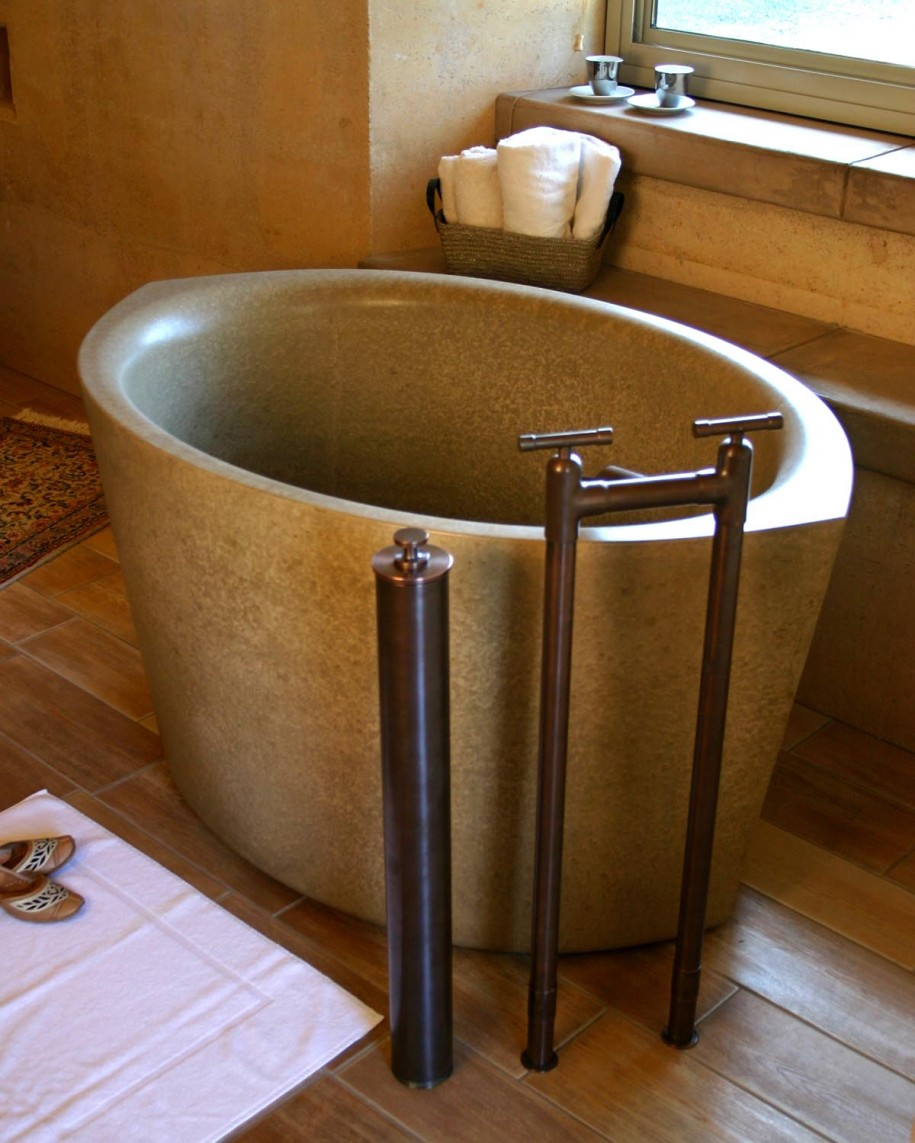 Deep Tubs for Small Bathrooms That Provide You Functional ... on Small Space Small Bathroom Ideas With Tub And Shower id=36669
