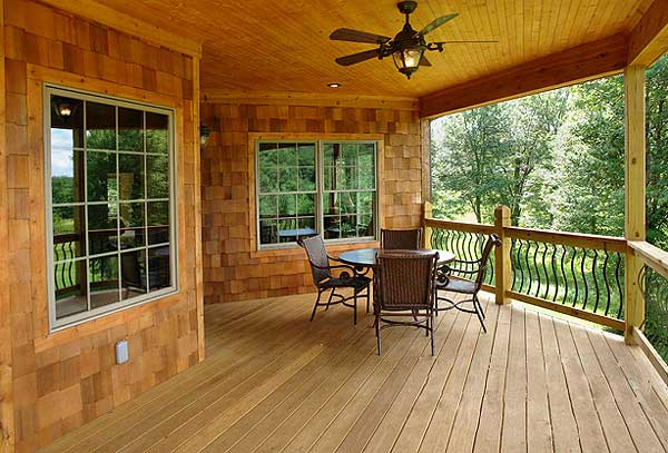 Ranch Home Designs with Porches - HomesFeed on Back Deck Ideas For Ranch Style Homes  id=64304