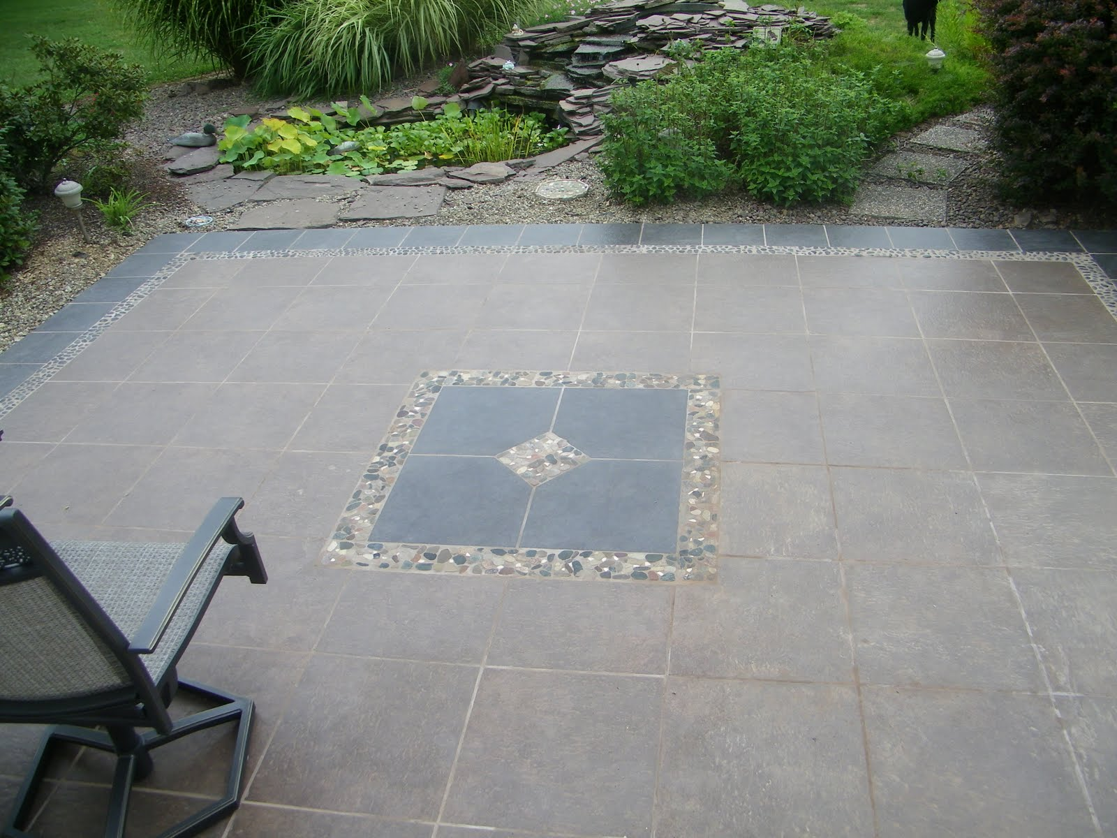 Several Outdoor Flooring Over Concrete Styles to Gain not ... on Backyard Concrete Patio Designs  id=41740