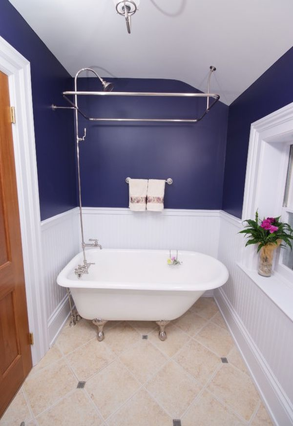 Efficient Bathroom Space Saving with Narrow Bathtubs for ... on Small Space Small Bathroom Ideas With Tub And Shower id=52509