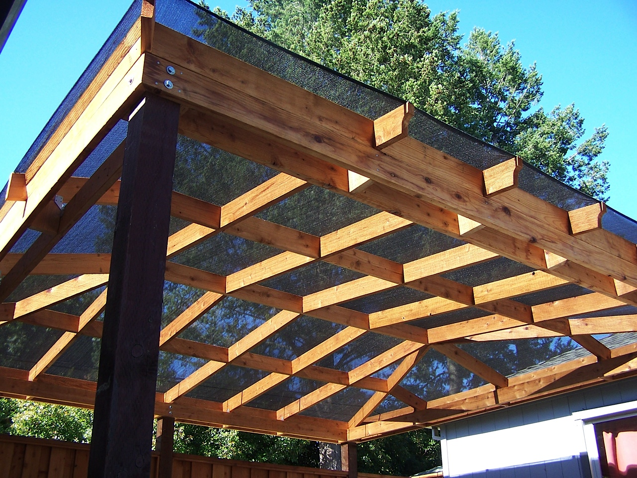 Deck Cover Ideas - HomesFeed on Patio With Deck Ideas id=37761