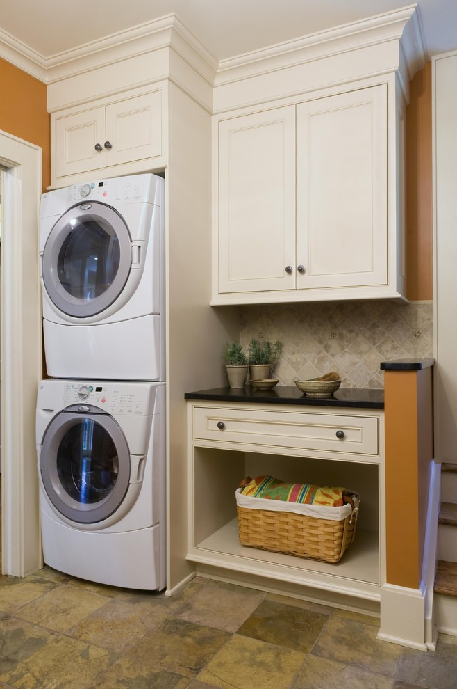 Having Small Laundry Room without Worry with Smallest ... on Small Laundry Room Cabinets  id=75424