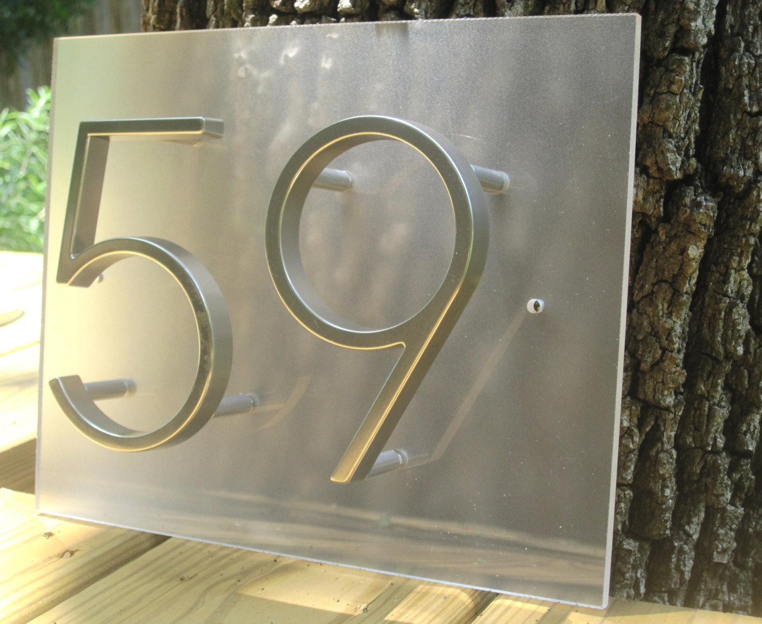The Best Shape And Style Of Address Plaques For Homes That