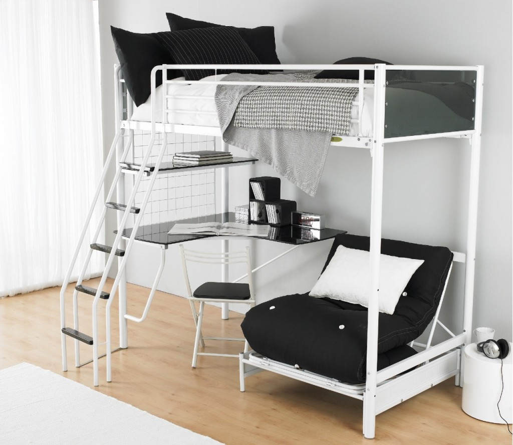 Loft Beds for Teenage Girl That Will Make Your Daughter ... on Teenage Bed  id=91853