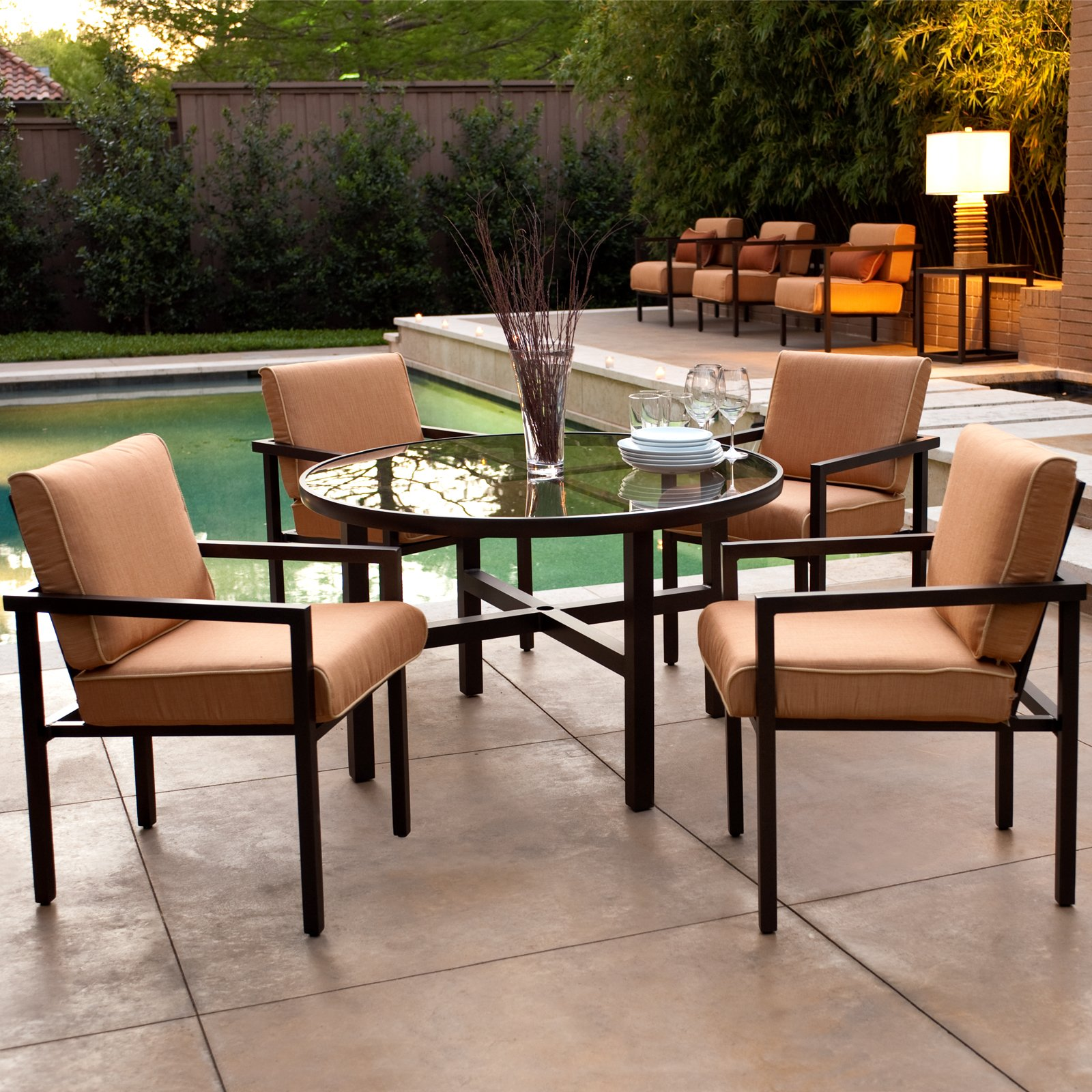 Places To Go For Affordable Modern Outdoor Furniture ... on Modern Backyard Patio id=44467