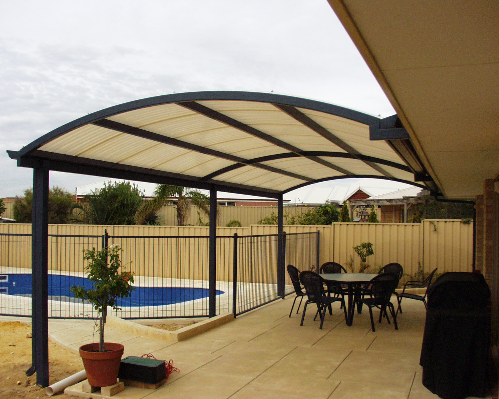 Backyard Patio Covers: From Usefulness To Style - HomesFeed on Backyard Patio Cover Ideas  id=35047