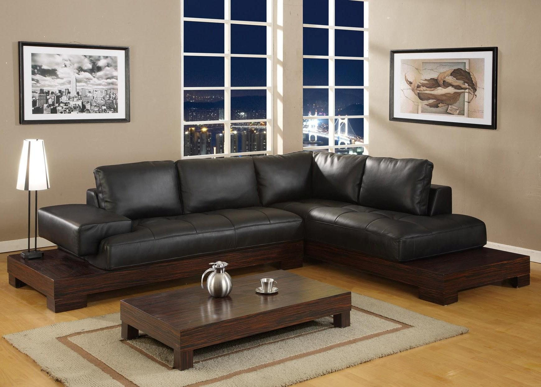 If your small living room is cramped, the last thing you want to do is hang out there. Black Furniture Living Room Ideas - HomesFeed