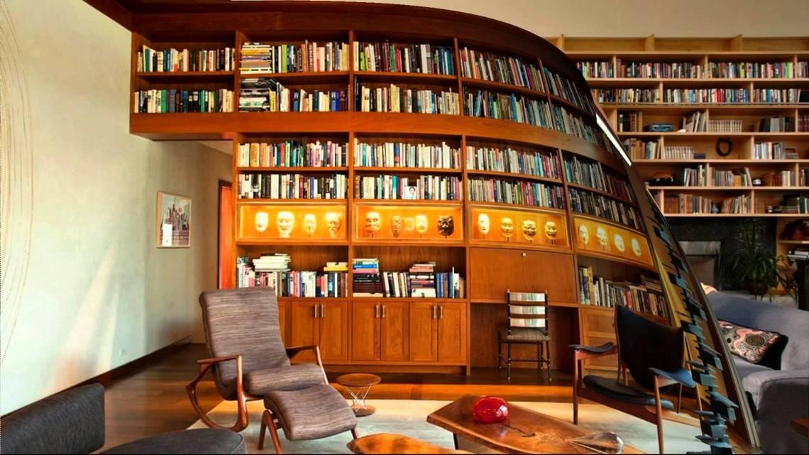 Home Library Design - HomesFeed