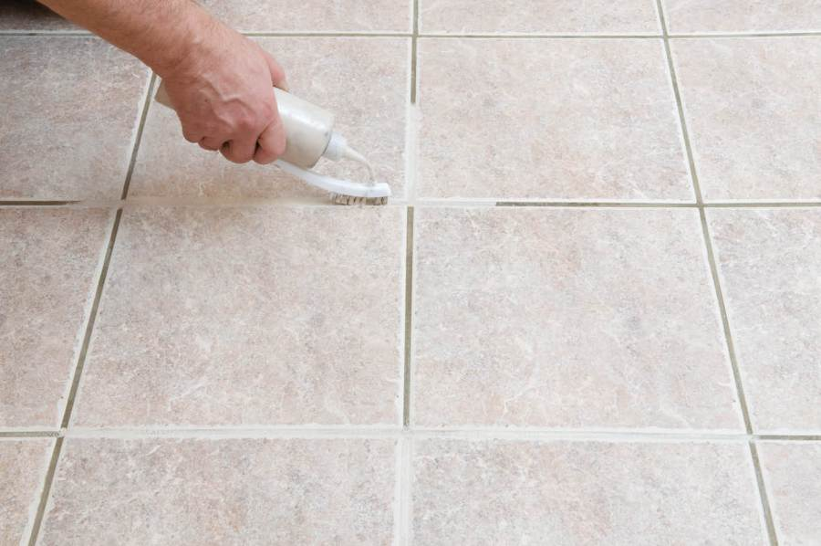 Simple Routines to Cleaning Ceramic Tile Floors   HomesFeed cleaning ceramic tile floors grout cleaning with toothbrush for clean  ceramic tile floors