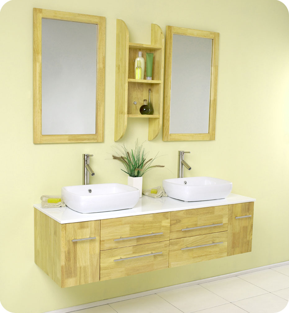 Small Bathroom Vanities With Vessel Sinks to Create Cool ... on Small Space Small Bathroom Ideas With Bath And Shower id=51829
