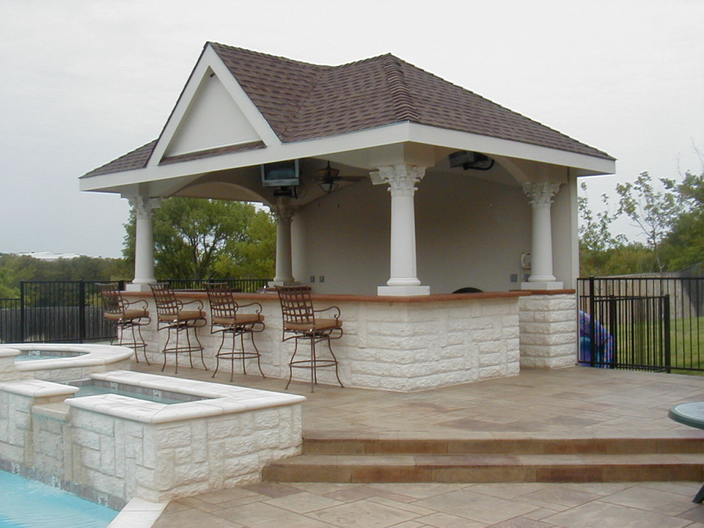 Pool Cabana Plans That Are Perfect for Relaxing and ... on Cabana Designs Ideas id=38190