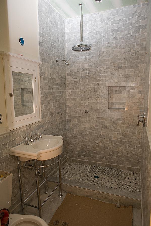 Marble Subway Tile Shower Offering the Sense of Elegance ... on Bathroom Ideas Subway Tile  id=88853