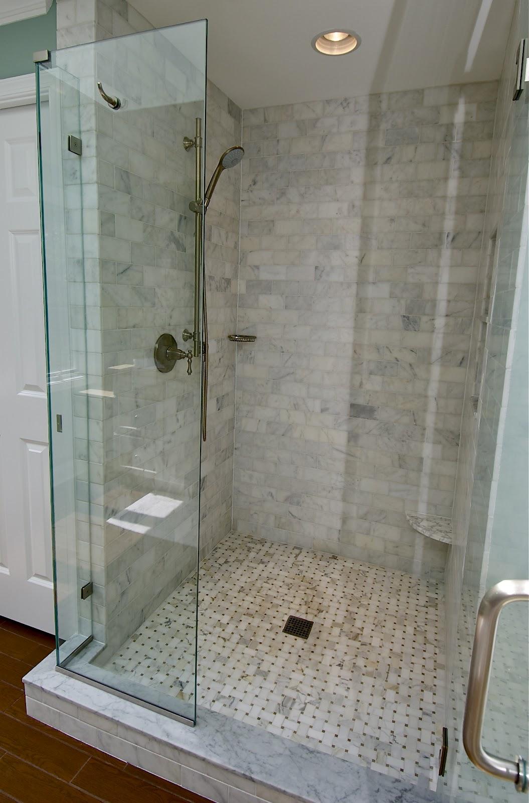 Marble Subway Tile Shower Offering the Sense of Elegance ... on Bathroom Ideas Subway Tile  id=54089